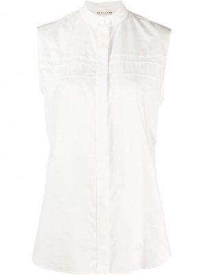 Рубашка без рукавов с воротником-стойкой 1017 ALYX 9SM. Цвет: белый