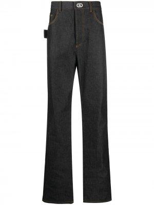 Широкие джинсы Bottega Veneta. Цвет: синий