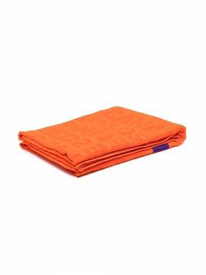 Пляжное полотенце с логотипом Dsquared2. Цвет: оранжевый
