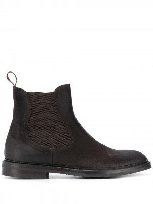 Ботинки челси Hunter Scarosso. Цвет: коричневый