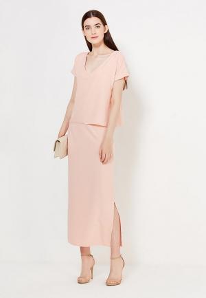 Платье Peperuna. Цвет: розовый