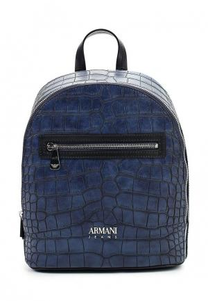 Рюкзак Armani Jeans. Цвет: синий