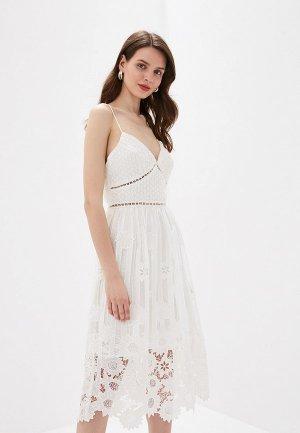 Платье True Decadence. Цвет: белый