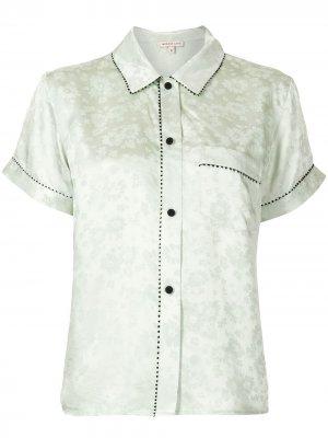 Пижамная рубашка Tami Morgan Lane. Цвет: зеленый