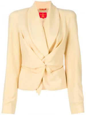 Пиджак с длинным ирукавами Red Label Vivienne Westwood Pre-Owned. Цвет: нейтральные цвета