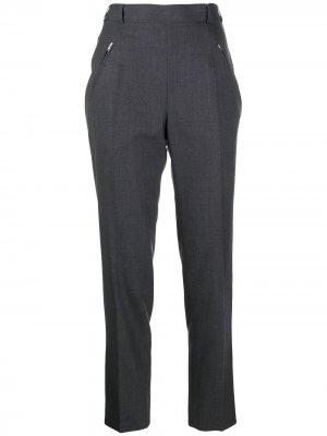 Укороченные брюки прямого кроя Maison Margiela. Цвет: серый
