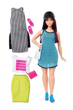 Брюнетка Спорт Barbie. Цвет: голубой