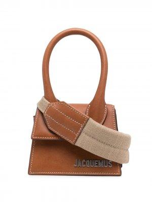 Мини-сумка Le Chiquito Jacquemus. Цвет: коричневый