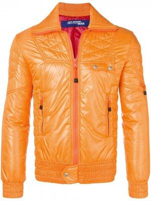 Куртка-пуховик Junya Watanabe Comme des Garçons Pre-Owned. Цвет: оранжевый