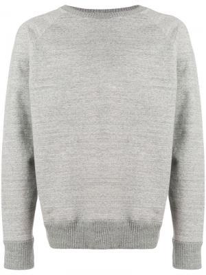 Marl jumper Nanamica. Цвет: серый