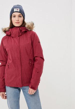 Куртка горнолыжная Roxy. Цвет: бордовый