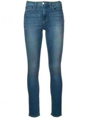 Прямые джинсы кроя слим Tilly L'agence. Цвет: синий