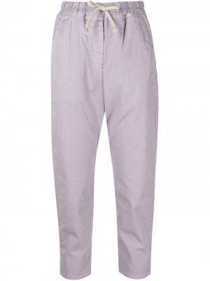 Укороченные брюки Casablanca Nili Lotan. Цвет: фиолетовый