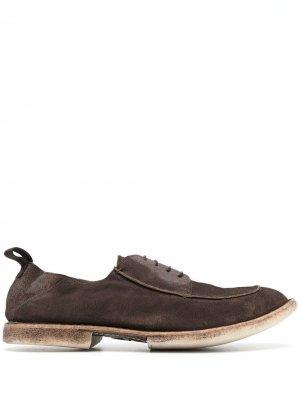 Туфли на шнуровке MOMA. Цвет: коричневый