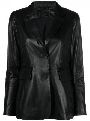 Однобортный пиджак Desa 1972. Цвет: черный