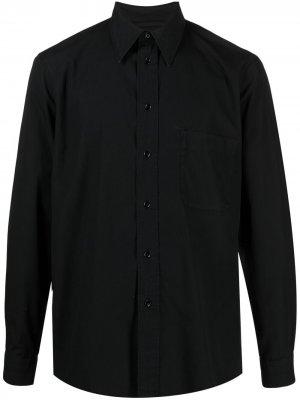 Рубашка с длинными рукавами Lemaire. Цвет: черный