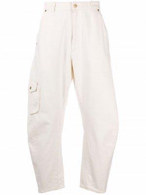 Зауженные джинсы с завышенной талией Tom Wood. Цвет: нейтральные цвета