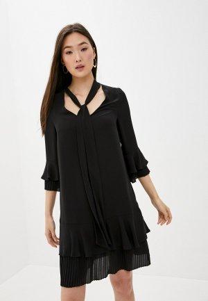Платье Blugirl Folies. Цвет: черный