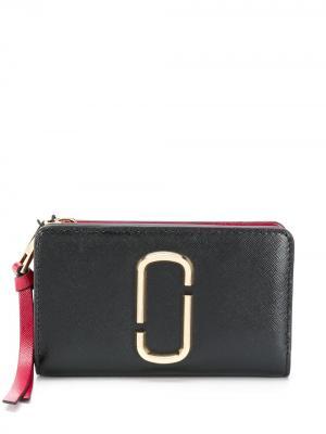 Мини-кошелек  Snapshot Marc Jacobs. Цвет: черный