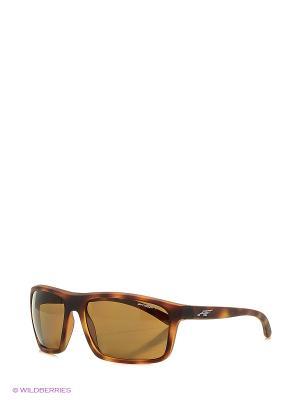 Очки солнцезащитные SANDBANK ARNETTE. Цвет: коричневый