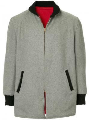 Куртка 1950 Pharaoh Fake Alpha Vintage. Цвет: серый
