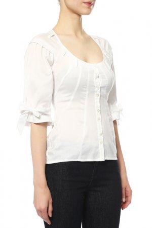 Блуза Paola Frani. Цвет: белый