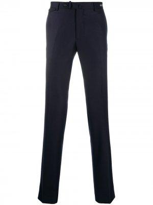 Прямые брюки Tagliatore. Цвет: синий