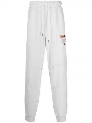 Спортивные брюки с вышитым логотипом Jordan. Цвет: белый