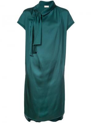 Платье Jagola By Malene Birger. Цвет: зеленый