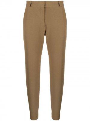 Укороченные брюки прямого кроя Joseph. Цвет: коричневый