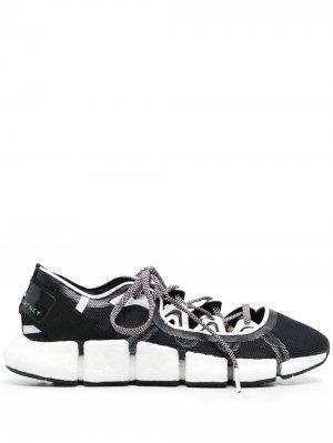 Кроссовки Vento с сетчатой вставкой adidas by Stella McCartney. Цвет: черный
