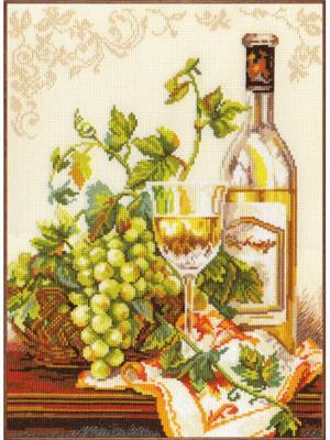 Набор для вышивания Шардоне  27х36 см Алиса. Цвет: желтый, зеленый, золотистый, коричневый, оранжевый, салатовый, светло-зеленый, темно-коричневый