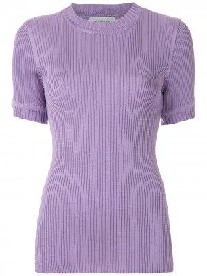 Трикотажная блузка Margose Olympiah. Цвет: фиолетовый