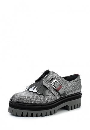 Ботинки Alberto Guardiani. Цвет: серебряный