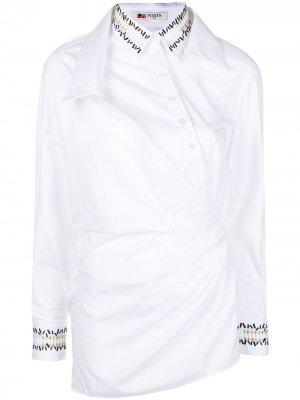 Рубашка асимметричного кроя Ports 1961. Цвет: белый