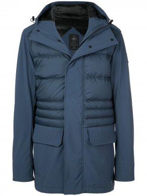 Непромокаемая куртка Canada Goose. Цвет: синий