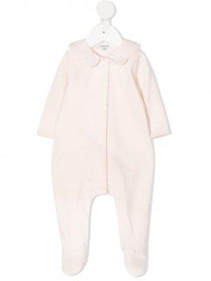 Пижама с фестонами LANVIN Enfant. Цвет: розовый