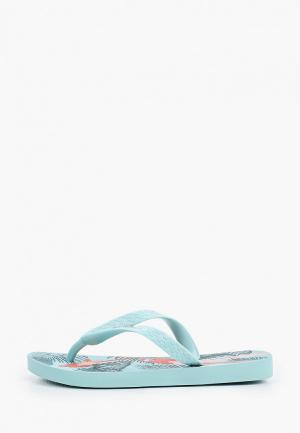 Сланцы Ipanema. Цвет: голубой