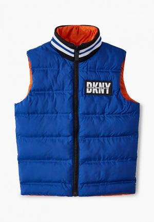 Жилет утепленный DKNY. Цвет: разноцветный