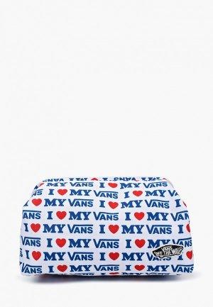 Косметичка Vans. Цвет: белый