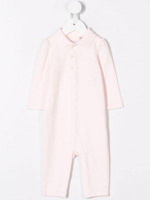 Комплект с вышитым логотипом Ralph Lauren Kids. Цвет: розовый