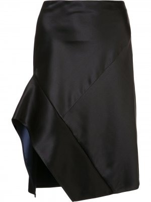 Асимметричная юбка Narciso Rodriguez. Цвет: черный