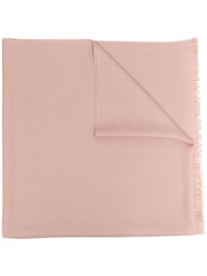 Кашемировая шаль N.Peal. Цвет: розовый