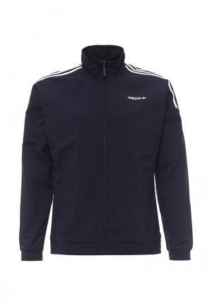 Ветровка adidas Originals. Цвет: синий