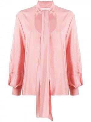 Блузка с U-образным вырезом Chloé. Цвет: розовый