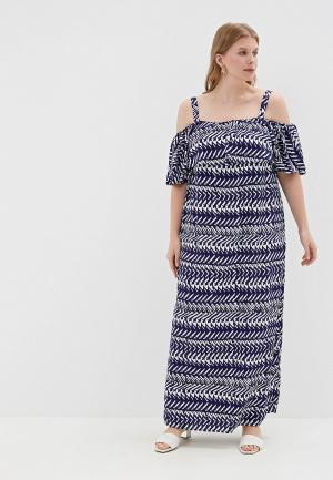 Платье Evans. Цвет: синий