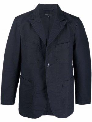 Куртка Ripstop Bedford Engineered Garments. Цвет: синий