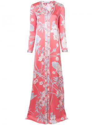Платье Syracuse Leonard. Цвет: розовый и фиолетовый