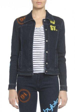 Куртка Byblos Blu. Цвет: мультицвет