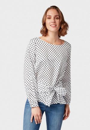 Блуза Tom Tailor. Цвет: белый